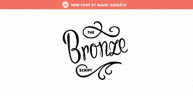 Bronze Script Font Download